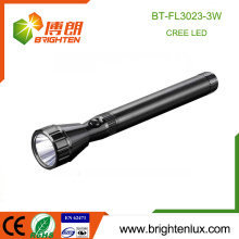 Factory Wholesale Aluminum Handheld 3SC Battery Operated Super Bright led Cree Police Torch Light