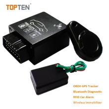 GPS OBD Tracker with 2.4G Attendance Management, Obdii Interface to Read Data From Car Tk228-Ez