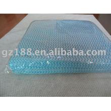 волнистые нетканых спанлейс ткань очистки ткани producter