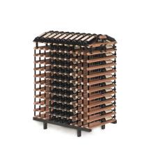 Minghou Hot sale 240 bottles or more red wine bottle holder display racks wine rack