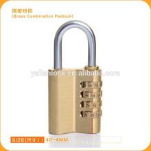 Novo Estilo Combinação cadeado senha bronze padlock Barato preço Segurança Door Lock