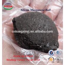 Форма шарика Си-Мн/кремний Марганец руда используется в производстве стали и литья