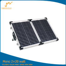 2*20W Monocrystalline Solar Panel for Motorhomes