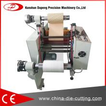 Filme de proteção na máquina de corte de bobinas