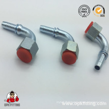 90º Orfs Female Flat Seat Hydraulic Hose Fitting