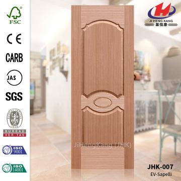 Nice Sapele Wood Veneer HDF Door Skin