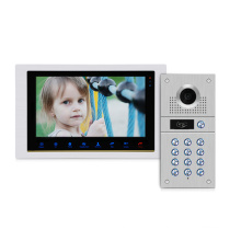 Stainless Steel Villa Video Door Phone Intercom System with RFID function