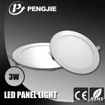 Painel da luz de teto do diodo emissor de luz 3W com certificação de RoHS do CE