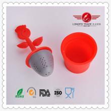 Новый дизайн популярный уникальный силиконовый заварочный узел для чая