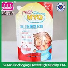 logotipo de diseño personalizado que imprime el líquido del detergente del lavaplatos que empaqueta el empaquetado
