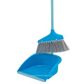 Long Handle Dustpan and Broom Folding Broom and Dustpan Set