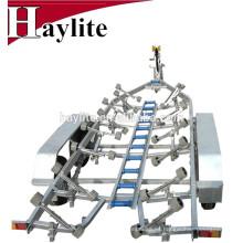 Remolque galvanizado en caliente de alta calidad del barco con las piezas y los rodillos para la venta