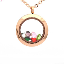 Wholesale new design fancy vial glass locket pendants jewelry