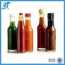 Alimentos Grado 150 Ml 180 Ml Botellas de Salsa Caliente Pimienta Botellas de Vidrio