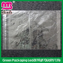 clear resealable plastic packaging bag for clothing