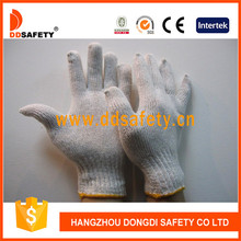 Ddsefety String Knitted Cotton Gloves with En388 Dck701