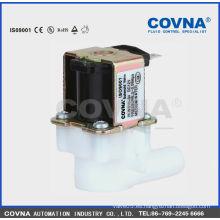 Válvula de solenoide válvula de solenoide de medio de agua válvula de plástico válvula de 2 vías 0.5 bar válvula fabricante
