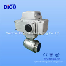 Heavy Type 2 Piece Electric Ball Valve (Q911F)