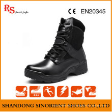 High Glossy Military Tactical Boots RS271