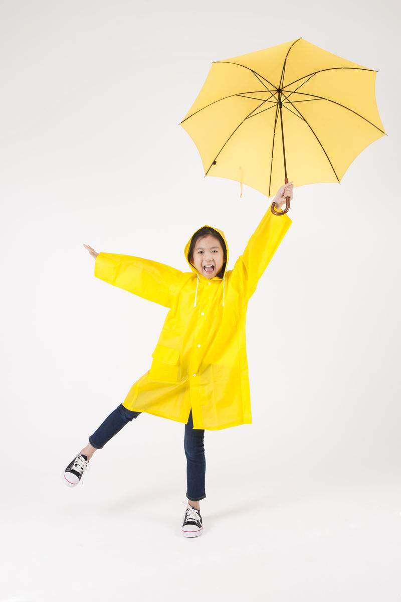 Lovely shaped sunshine kid sun yellow children umbrella02