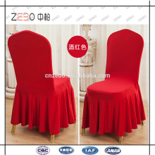 Bunte kundenspezifische Hochzeit oder Bankett verwendet abnehmbare Esszimmer Stuhl Abdeckungen