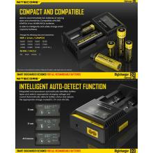 Heta försäljning Nitecore D2 E-cig batteriladdare