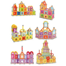 Enfants de Noël cadeaux enfants bébé magnétique blocs éducatifs jouets magnétiques Sticks
