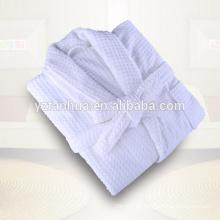 Terry terciopelo algodón fibra extrafina bata de baño para hombres y mujeres