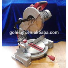 "Low Life 255mm 10"" Induction Motor Electric Power Aluminum Wood Cutting Cut Off Machine Tools Silent Miter Saw"