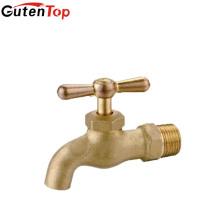 LB Guten haut Bibcock en laiton de fonte d'électrodéposition de chrome avec le robinet d'eau de poignée en T fournisseur
