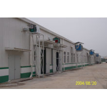 Corrugated Steel Roof Prefabricated Steel Structures , Yx51-470 Panel