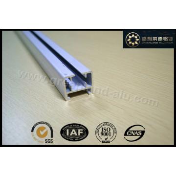 Riel de cortina de aluminio para persianas eléctricas