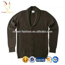 Pull côtelé tricoté en cachemire pour enfants