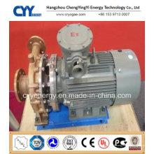 Pompe centrifuge à l'eau à base d'oxygène liquide cryogénique à l'azote
