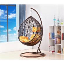 cadeira do balanço do jardim do hammock da forma do ovo