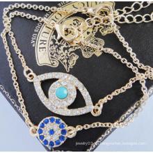 Evil Eye Full Diamond Bracelet (XBL13499)