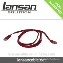 CAT6 UTP FLAT Patch CABLE Mit RJ45 Modul