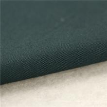 21x20 + 70D / 137x62 241gsm 157cm verde preto algodão esticar sarja 3 / 1S twill suiting tecido t-shirt tecido de costura