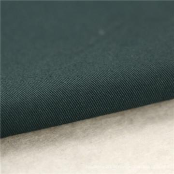 21x20 + 70D / 137x62 241gsm 157cm verde preto esticar tecido de algodão 3 / 1S spandex vestido tecido tingido calça para homem