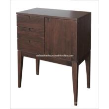 Gabinete de madera sólida gabinete (TF-09-01)