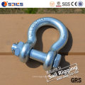 Drop Forged High Tensile Screw Pin/Safety G-209/G-2130 Anchor Shackle