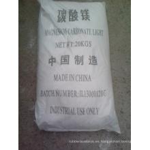 Carbonato de magnesio técnico y grado de alimentos