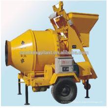 JZM350 mezcladora de hormigón móvil, hormigonera automática, hormigonera para la venta