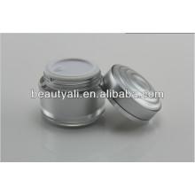 15g 30g 50g Crema cosmética de lujo que empaqueta el tarro de acrílico