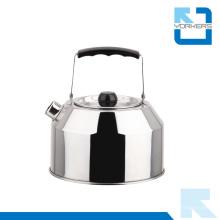 1.0L нержавеющая сталь чайник и открытый чайник с портативной ручкой