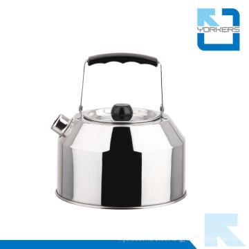 Caldera de agua de acero inoxidable de 1.0L y caldera de agua al aire libre con manija portátil