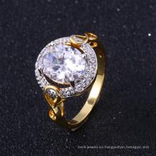 anillo de oro 24K anillo de ajuste de arabia saudita cruces de latón religioso