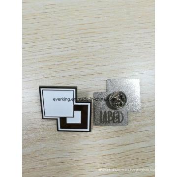 Pin personalizado de solapa de esmalte con logotipo en relieve