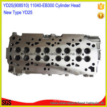 11040-Eb300 11040-Eb30A 11039-Ec00A Yd25 Cylinder Head for Nissan
