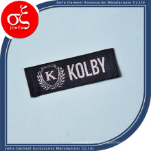 Etiqueta de tecido personalizado de preço de fábrica